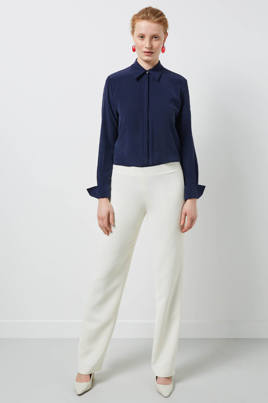 Stirling Ivory Trousers