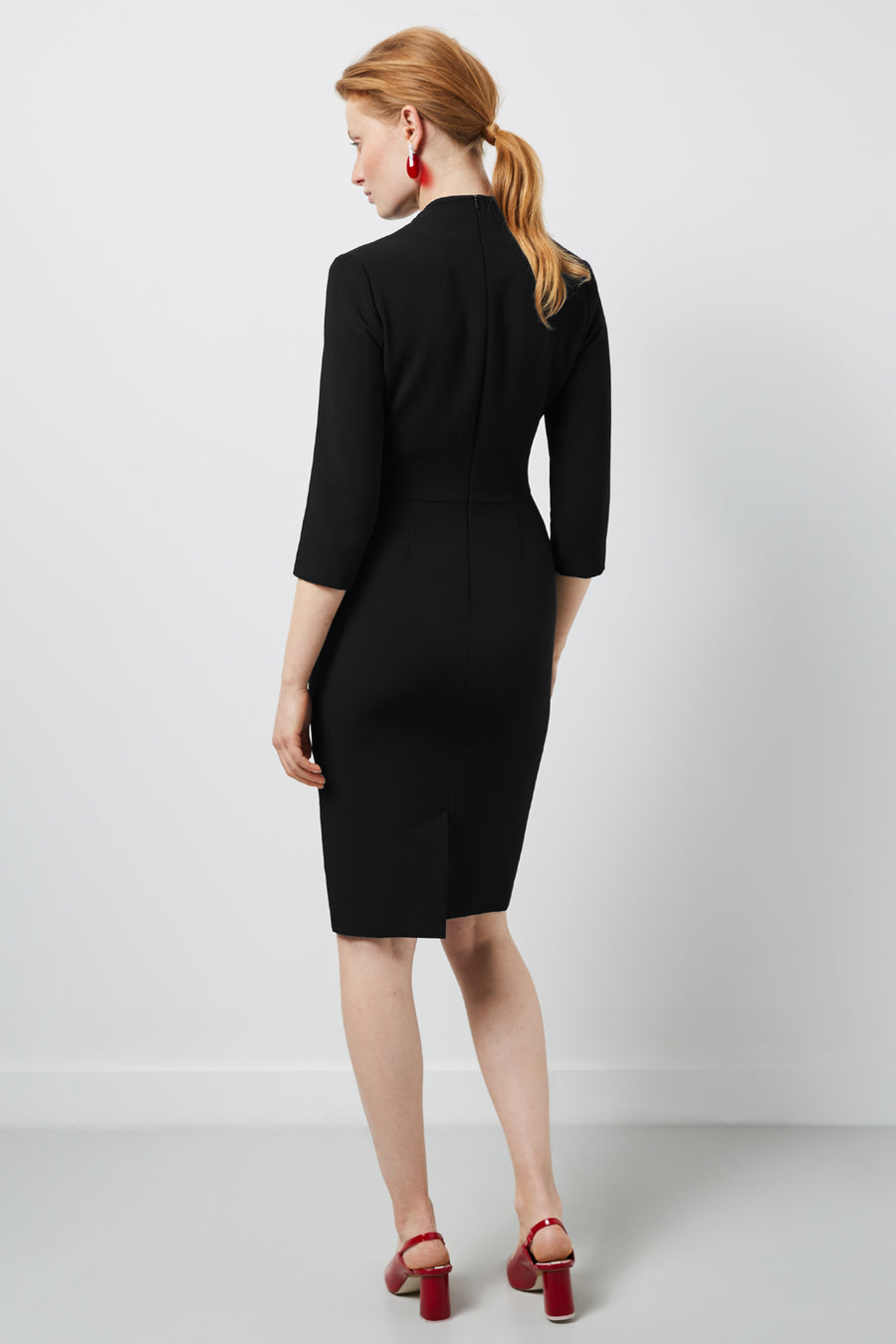 Montague Dress Black