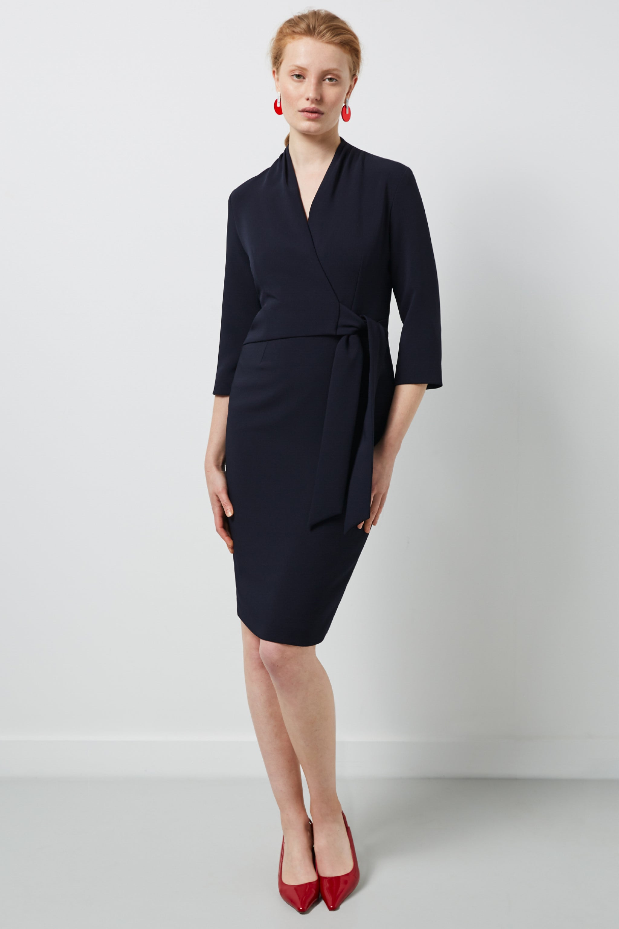 Montague Dress Navy