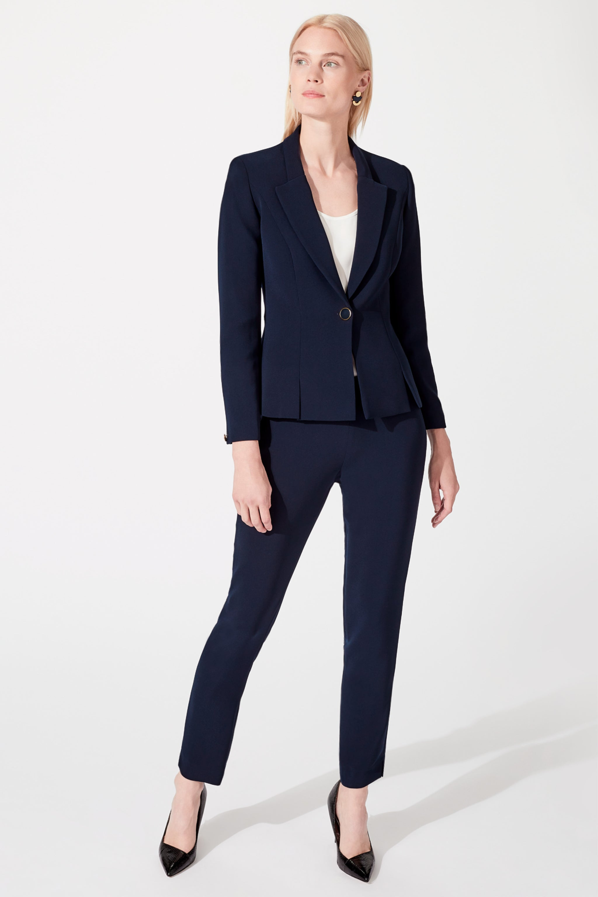 Buckingham Navy Suiting Jacket