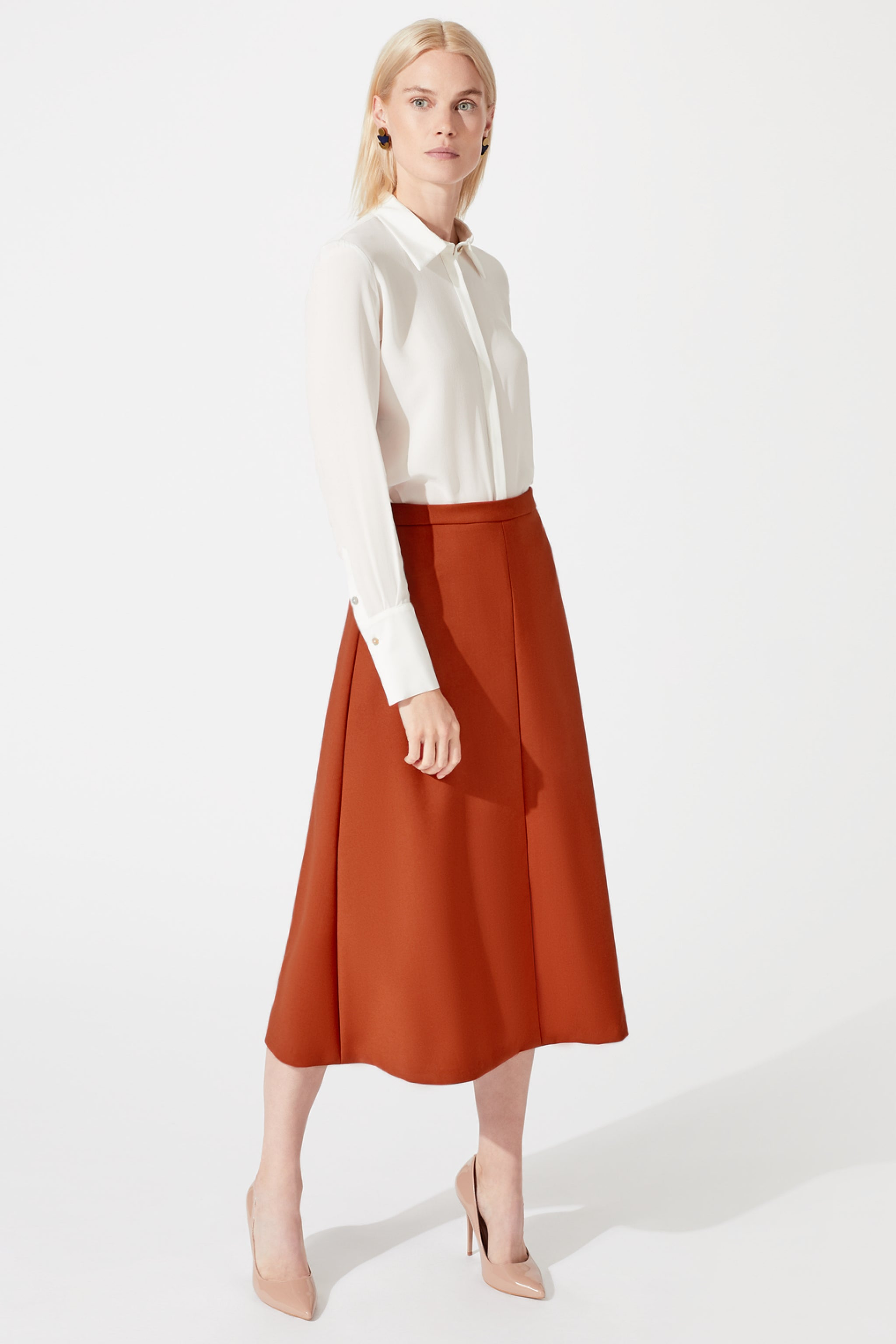 Penrith Terracotta Skirt