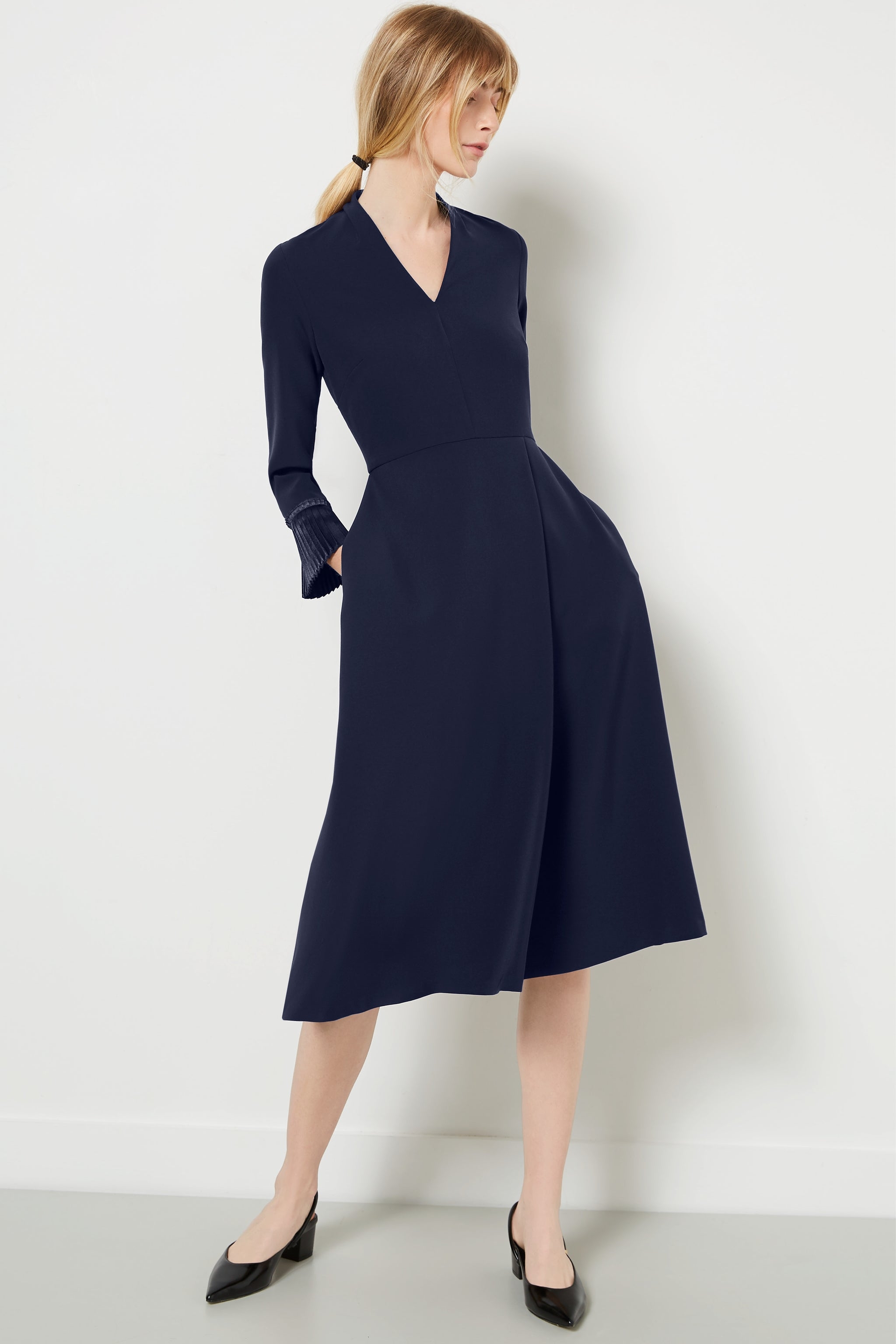 Pimlico Navy Dress