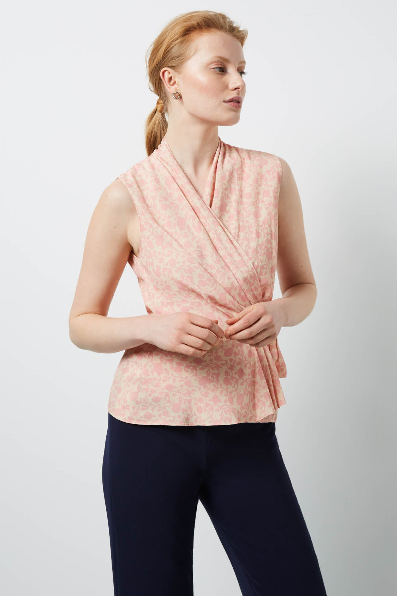 Lincoln Bloom Print Top