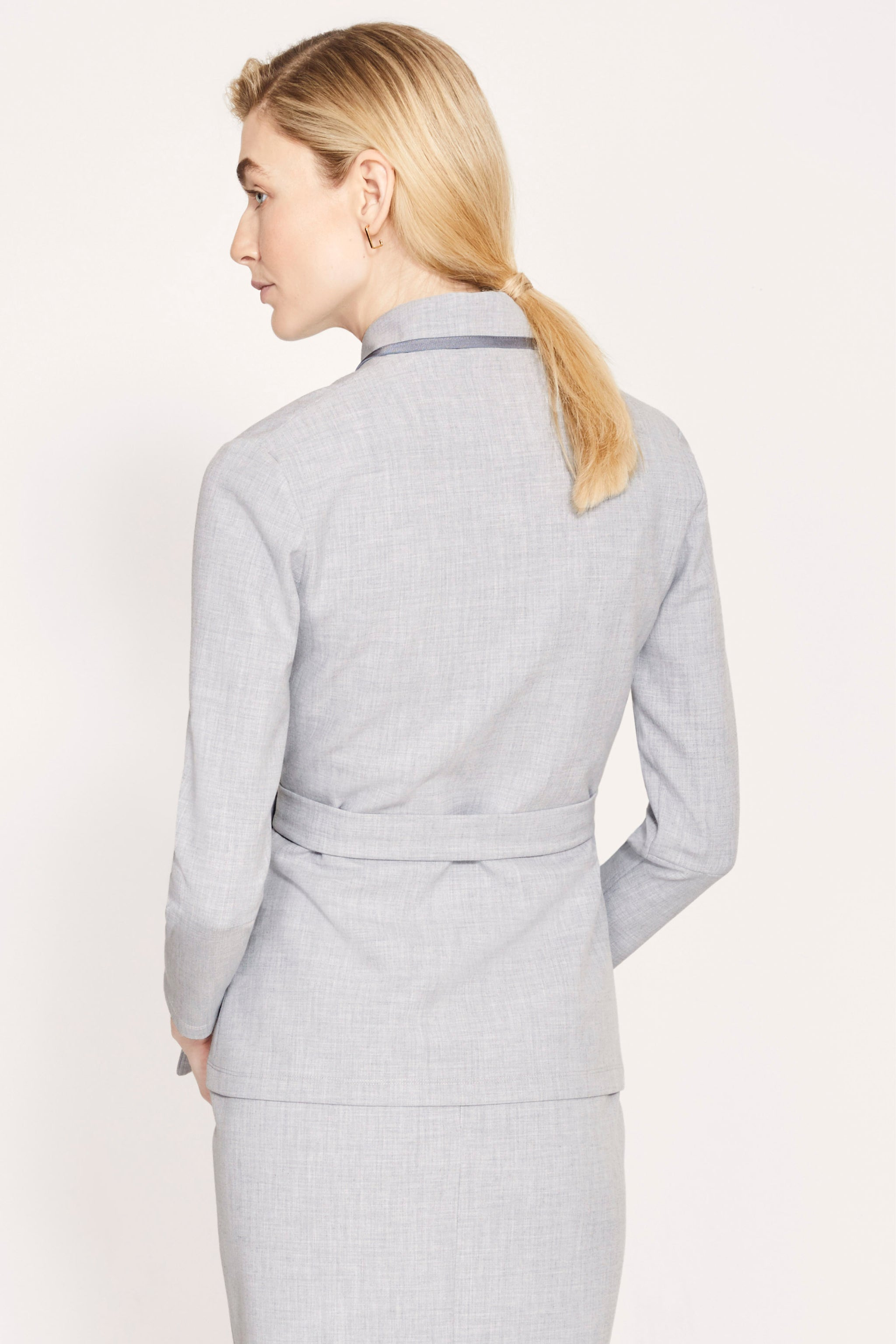 Plymouth Pale Grey Jacket