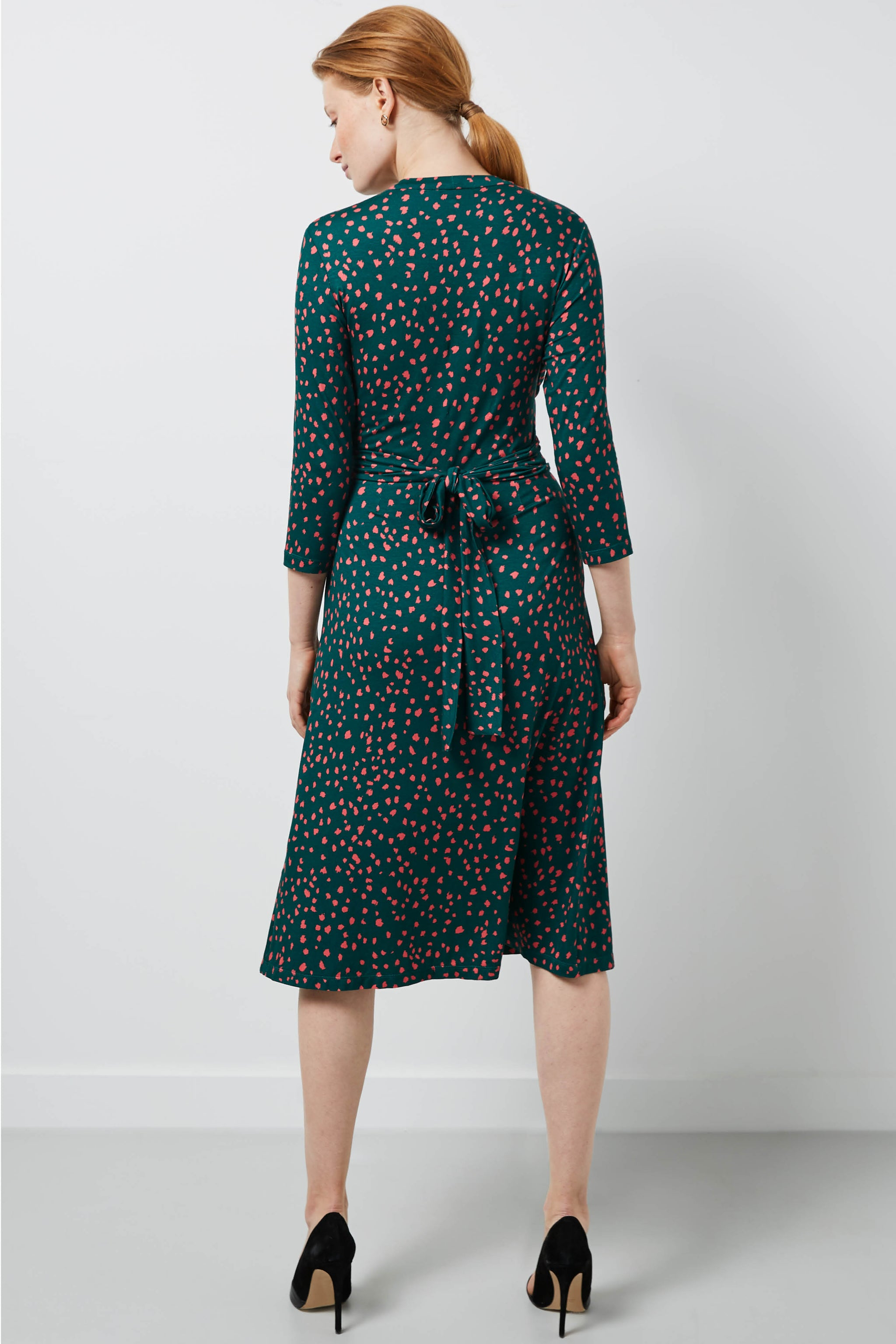 Radley Green Dapple Print Dress