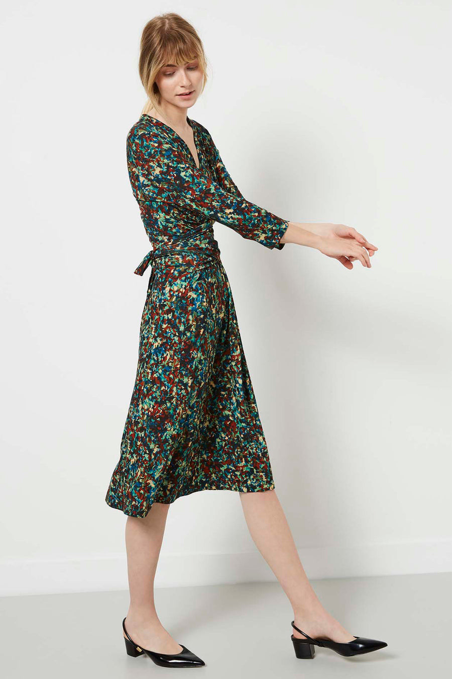 Radley Monet Print Dress