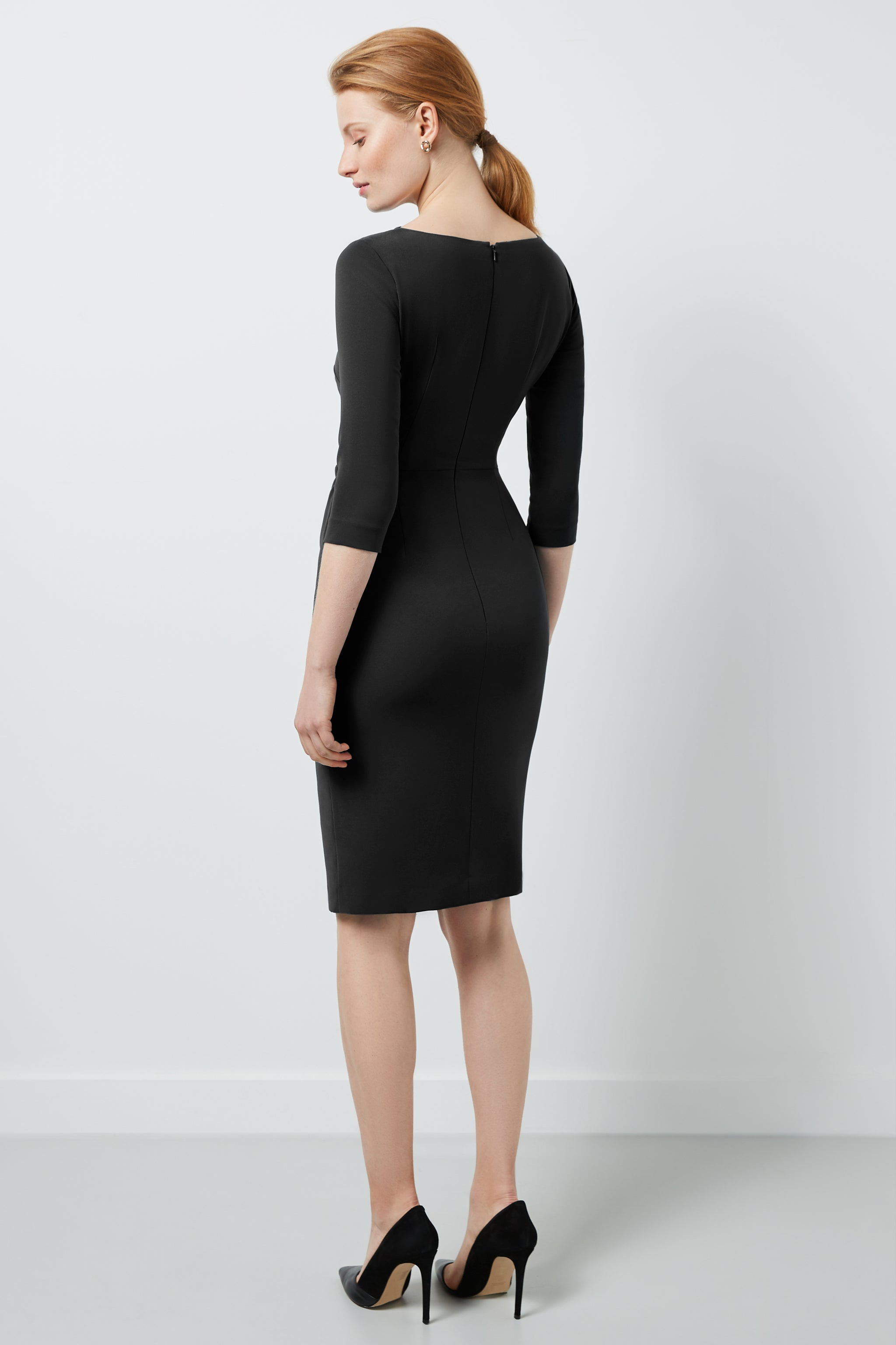 Tiverton Black Dress