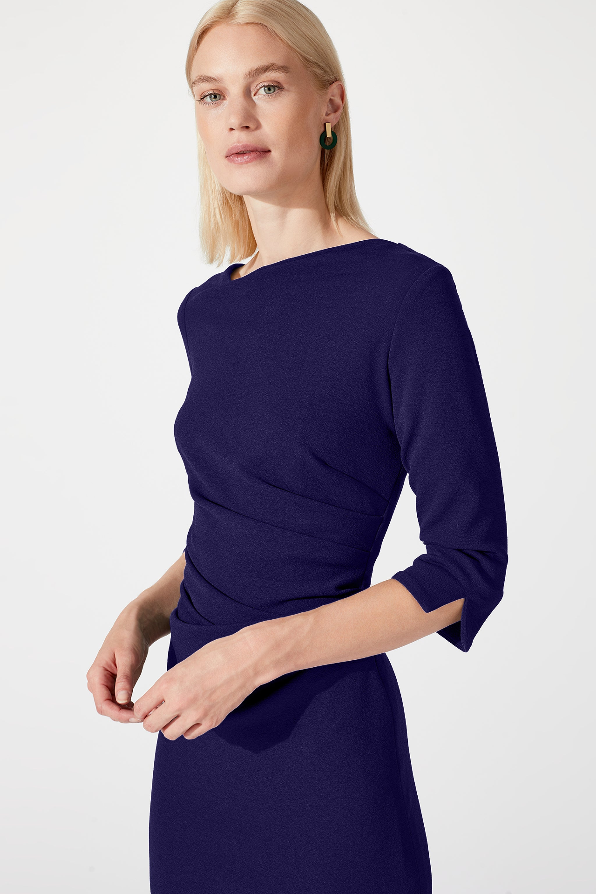 Tiverton Cobalt Dress