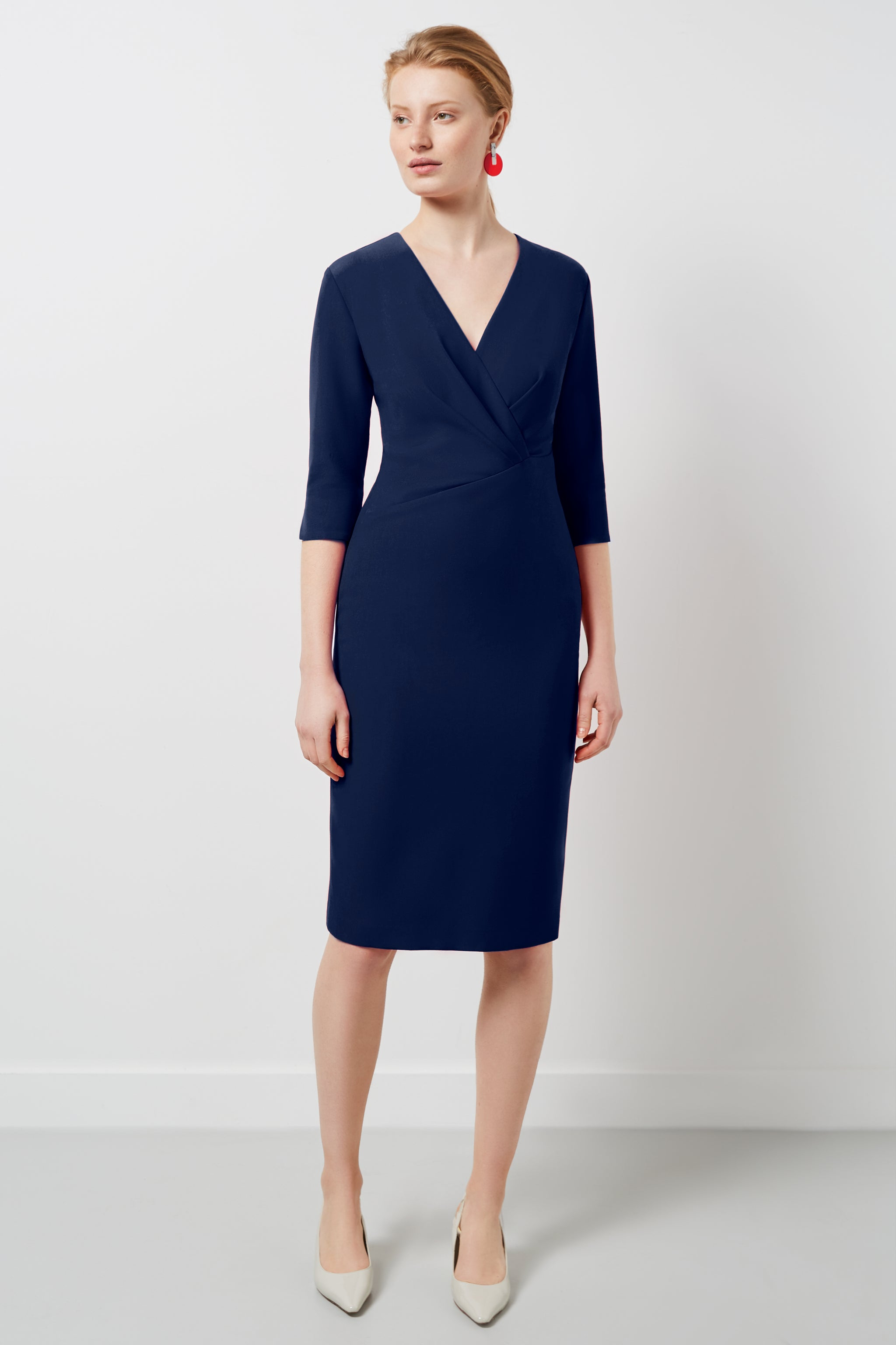 Wigmore Navy Dress