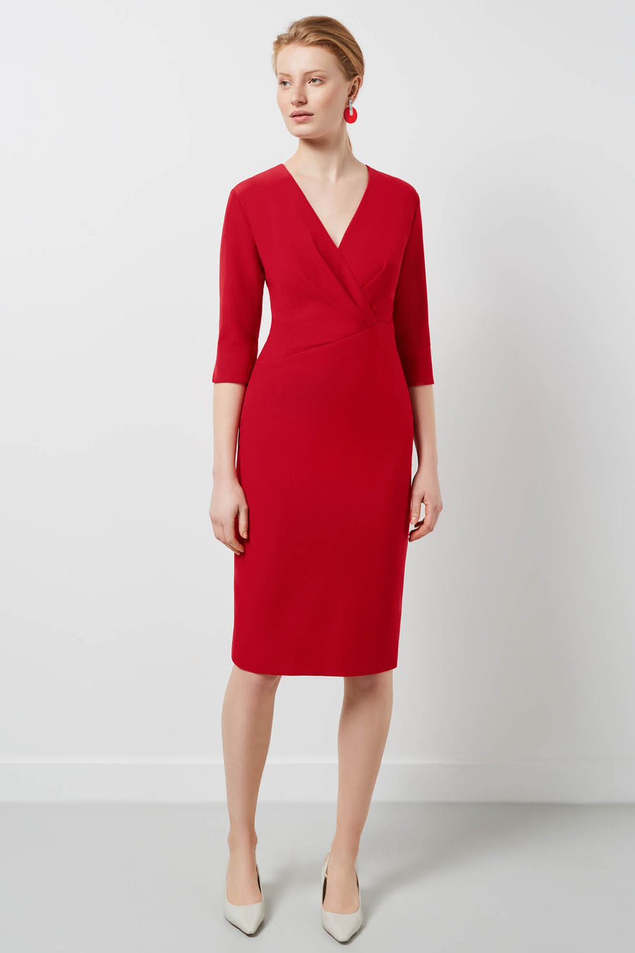 Wigmore Red Dress