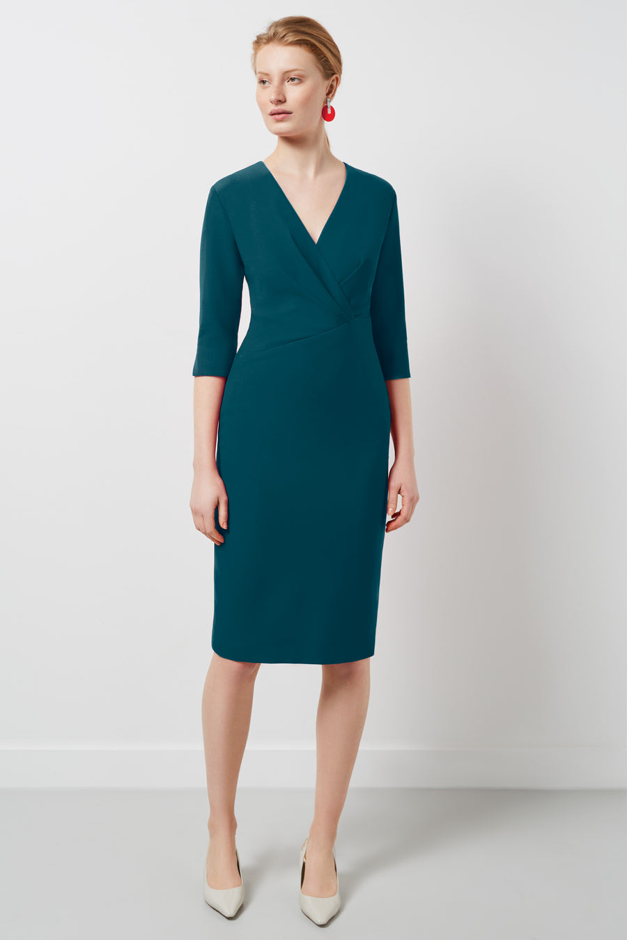 Wigmore Petrol Dress