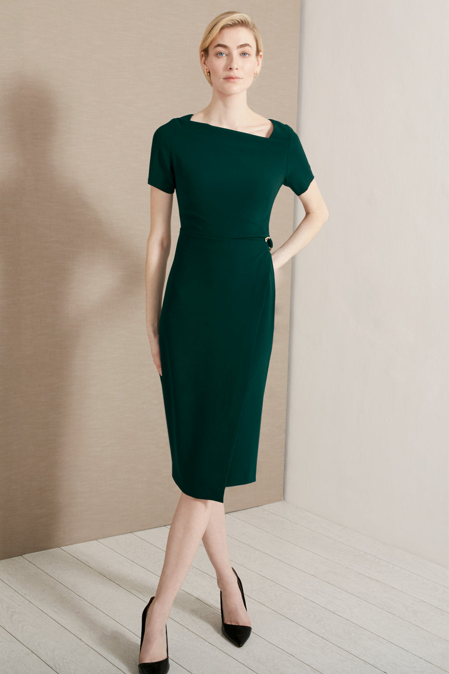 Wiltshire Green Dress
