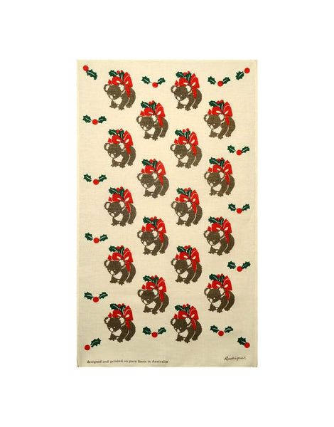 Christmas Koala Tea Towel