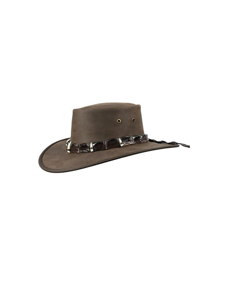 Hat Outback Croc 5 Teeth Hatband