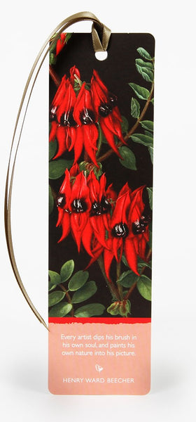 Bookmark Sturt Pea