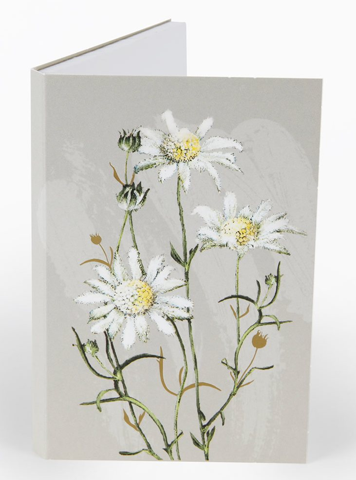Notepad Flannel Flower