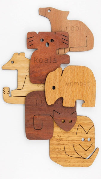 Coasters Animal Shapes