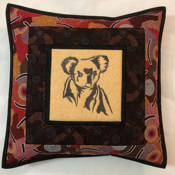 Cushion Cover Koala on Aboriginal