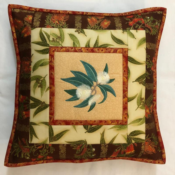 Cushion Cover Gum Blossom on Wildflower