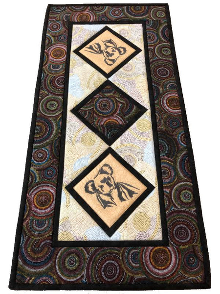 Table Runner Koala on Aboriginal