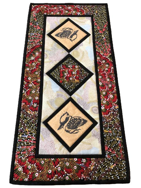 Table Runner Kookaburra on Aboriginal