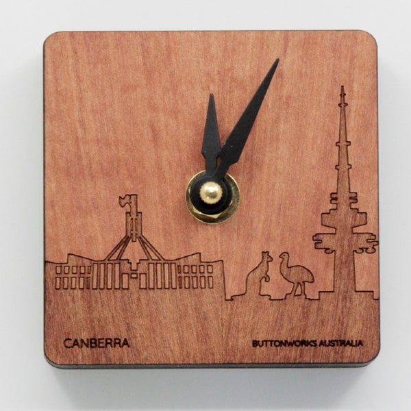 Clock Canberra Mini Desk