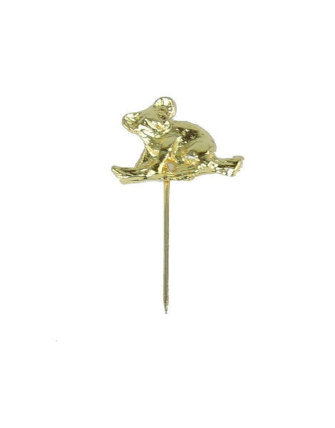 Stick Pin Koala gold