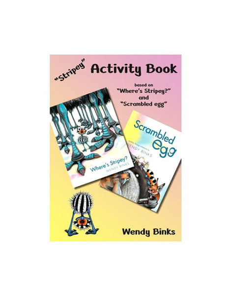Stripey Activity Book