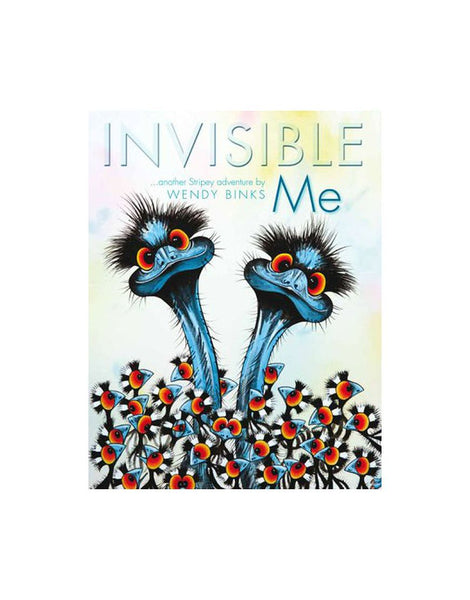 Book Invisible Me Wendy Binks