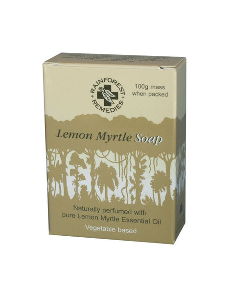Soap Lemon Myrtle Smooth