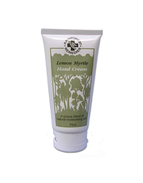 Lemon Myrtle Hand Cream 75gm tube