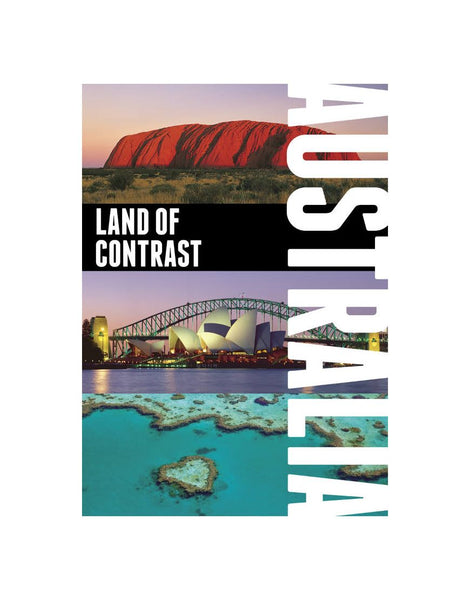Book Aust Land of Contrast