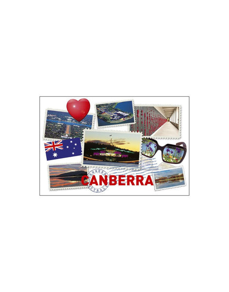 Magnet Stamps Canberra Tin