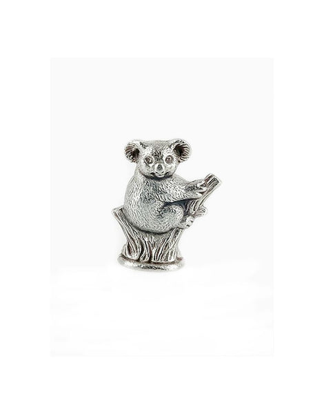 Micro Mini Koala Pewter