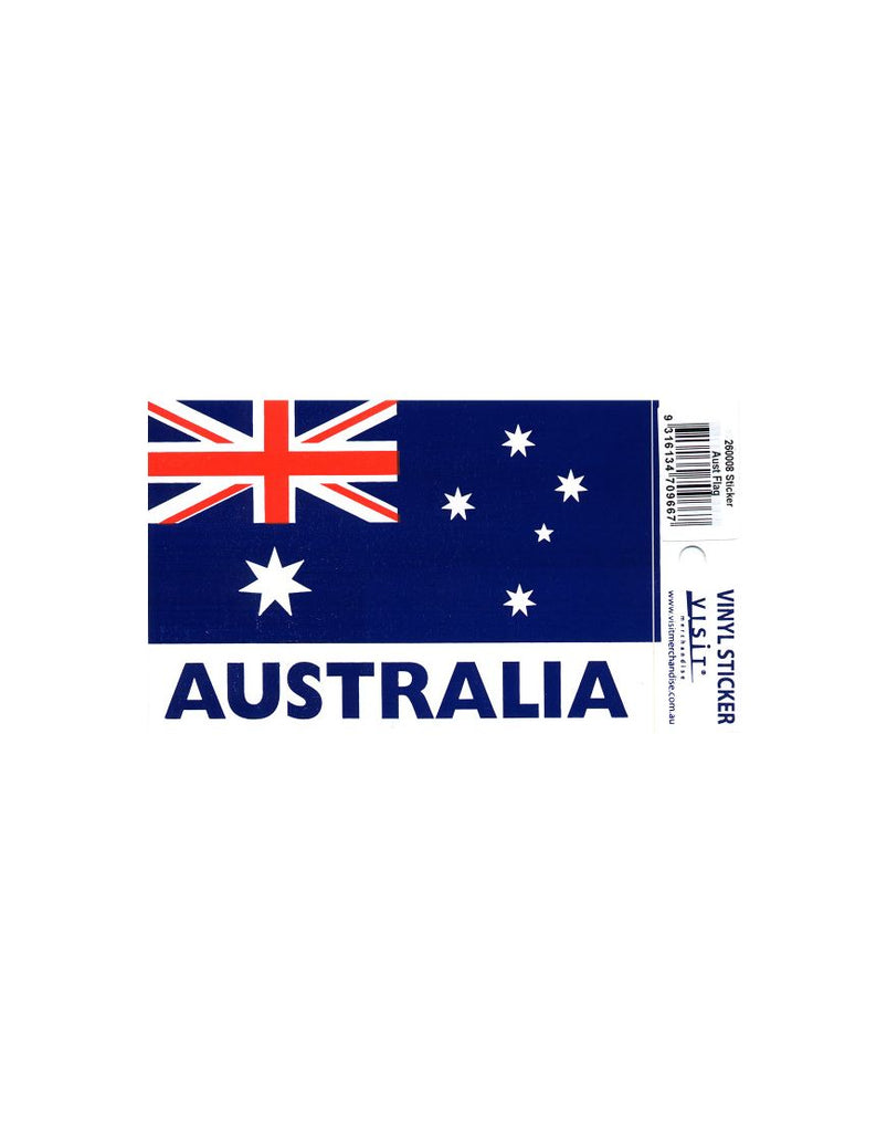 Sticker Aust Flag Single