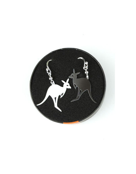 Earrings Kangaroo Body Icon