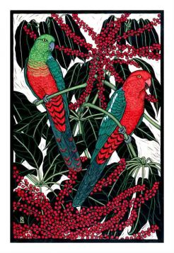 Card King Parrot