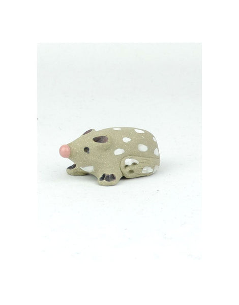 Small Quoll Ceramic Animal
