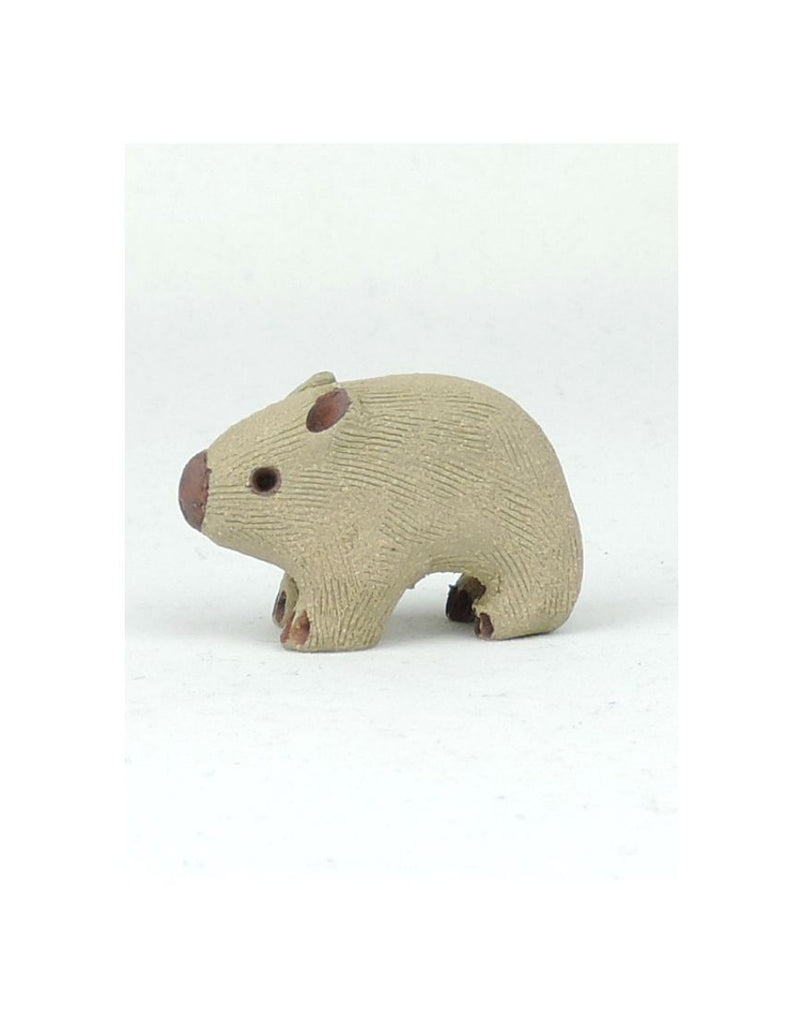 Small Wombat Ceramic Animal