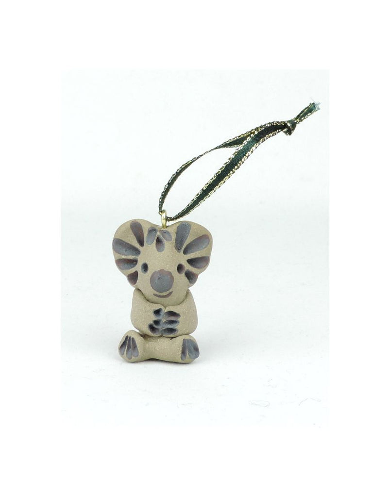 Xmas Deco Koala Ceramic Animal