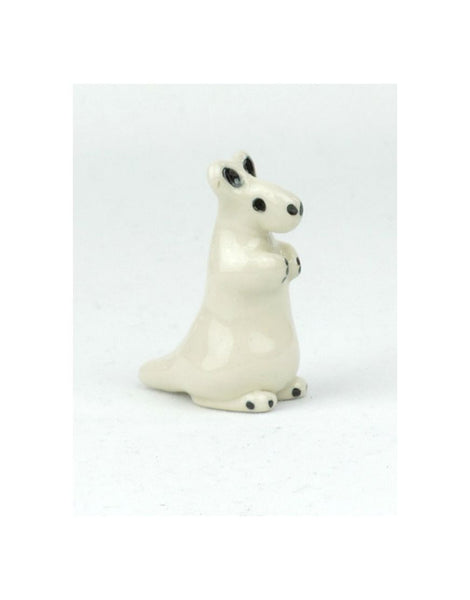 Glazed Kangaroo Ceramic Animal