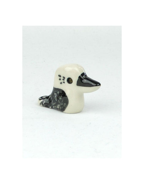 Glazed Kookaburra Ceramic Animal