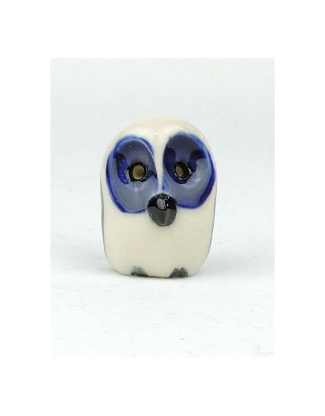 Glazed Owl Ceramic Animal
