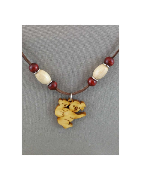 Leather Necklace Koala+Young