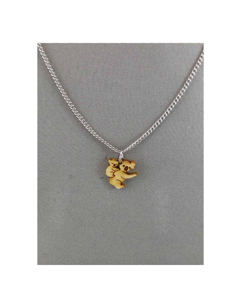 Chain Pendant Koala and Baby