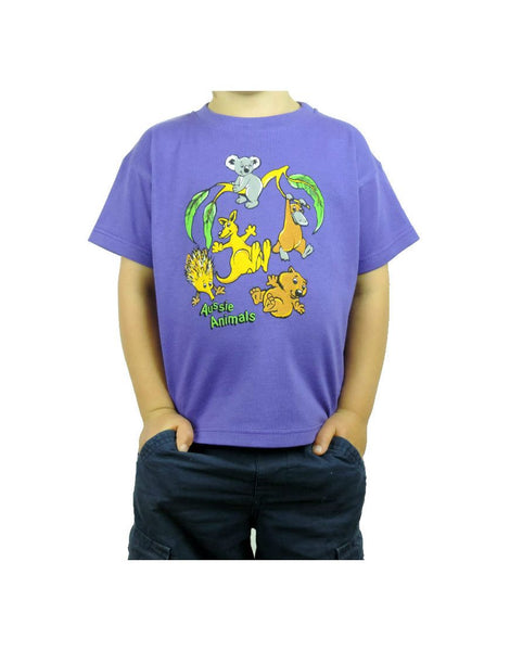 Kids TS Aussie Animals Tumbling