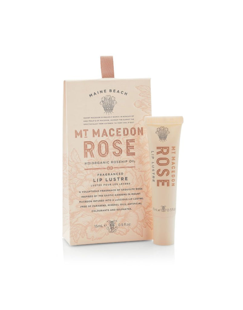 MMR 15ml Lip Lustre Mt Macedon Rose