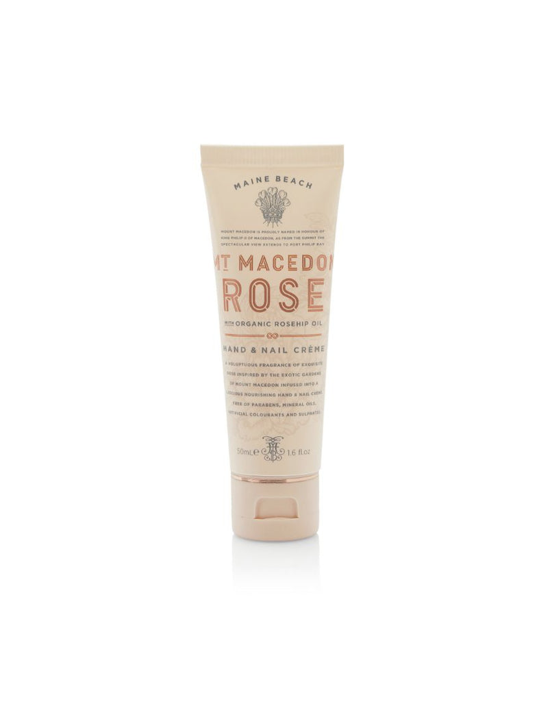 MMR 50ml Hand and Nail Mt Macedon Rose
