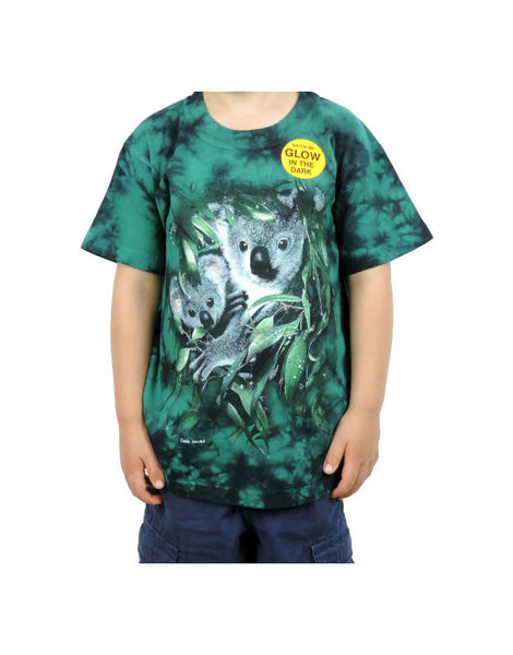 Kids Tshirt Koala Natural Habitat
