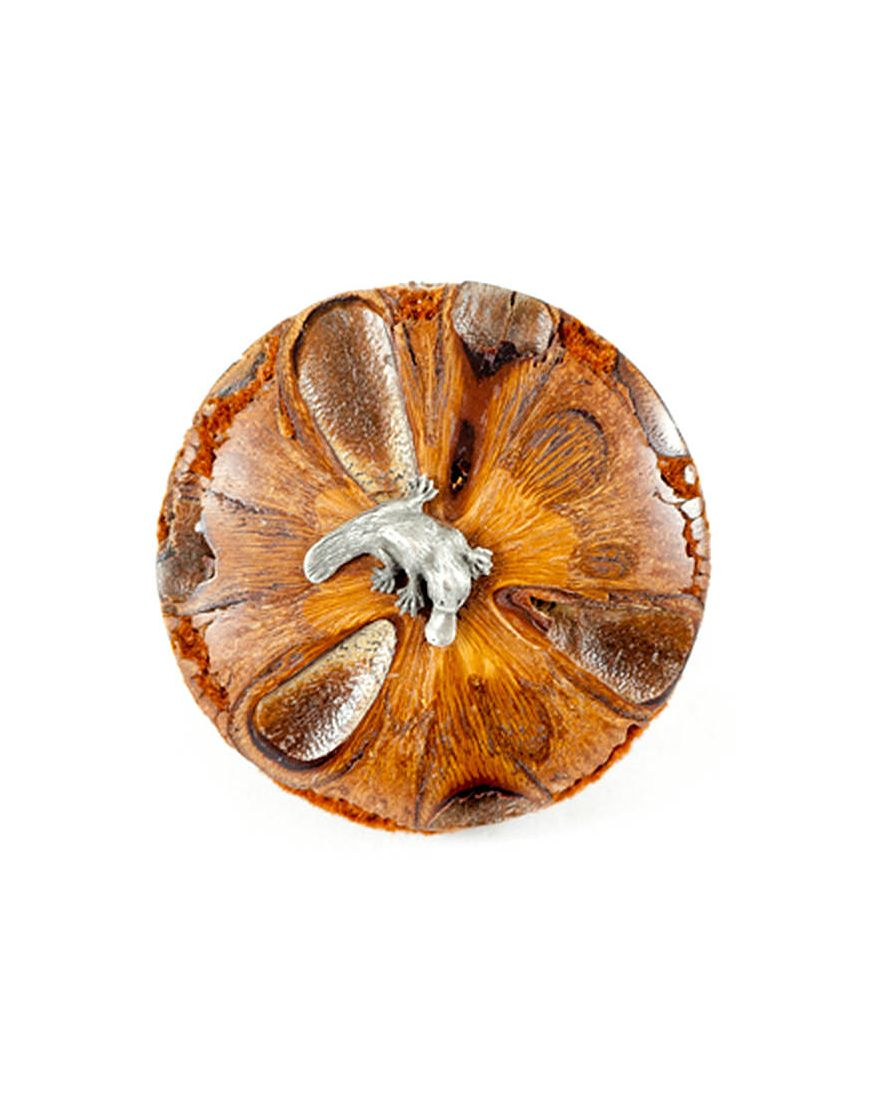Banksia Paper Weight with Platypu